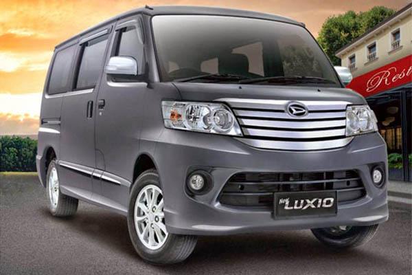 Pengujian Daihatsu Luxio