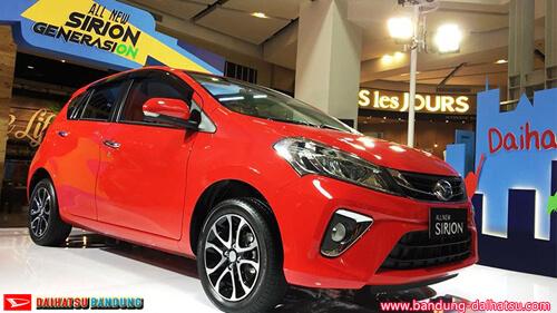 Perubahan Total All New Daihatsu Sirion 2018
