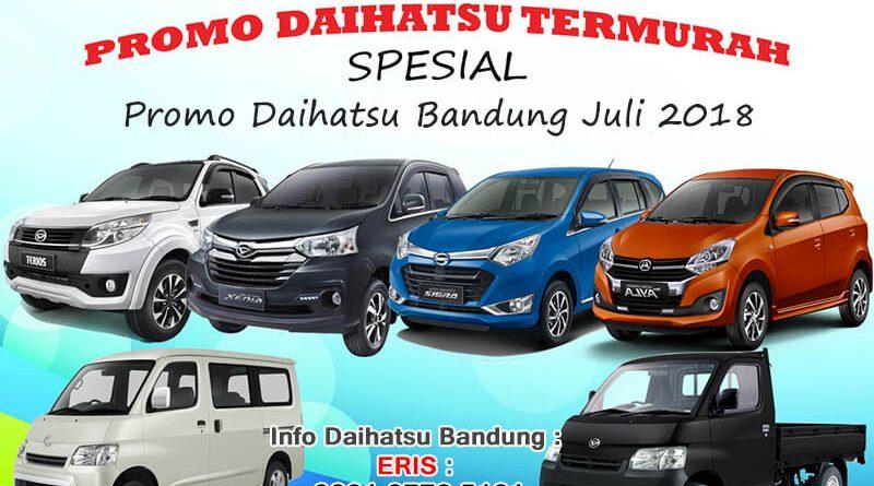 Promo Daihatsu Granmax Bandung DP Nett Juli 2018