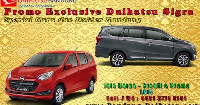 Promo Exclusive Daihatsu Sigra Spesial Guru dan Dokter Bandung