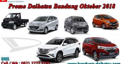 Promo Daihatsu Bandung Oktober 2018