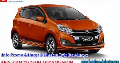 Kredit Daihatsu Ayla Bandung