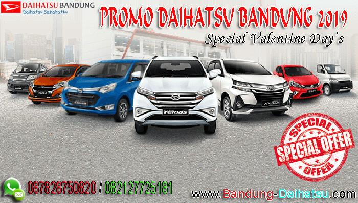 Promo Daihatsu Bandung 2019 Special Valentine Day's