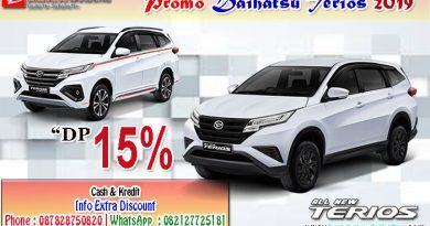 Promo Daihatsu Terios 2019 DP 15%