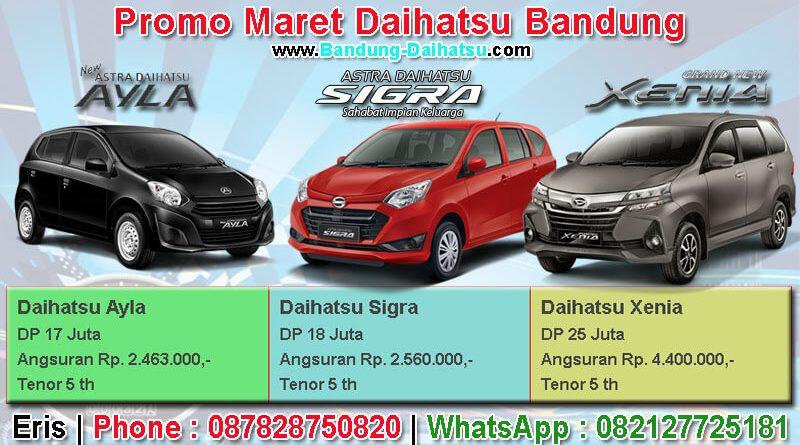 Promo Daihatsu Bandung Maret 2019