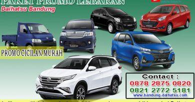 Paket Promo Lebaran Daihatsu Bandung