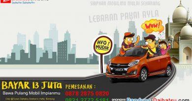 Promo Lebaran Daihatsu Ayla