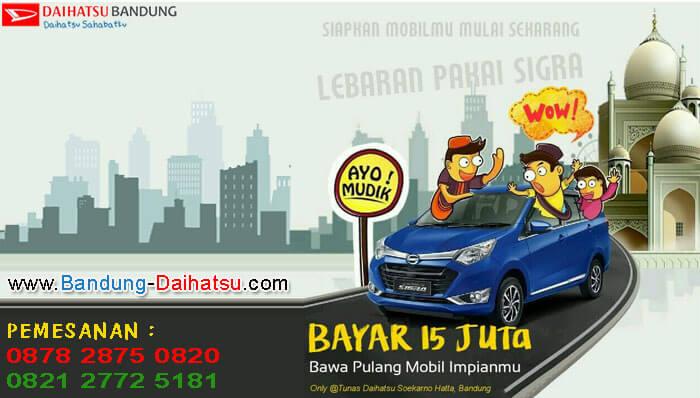 Promo Lebaran Daihatsu Sigra