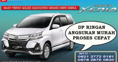 Promo Mobil Daihatsu Xenia Bandung
