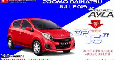 Promo Daihatsu Ayla Bulan Juli 2019