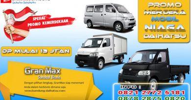 Promo Merdeka Mobil Niaga Daihatsu Bandung