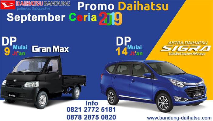 Promo Daihatsu September Ceria Bandung 2019