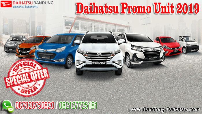 Daihatsu Promo Unit 2019