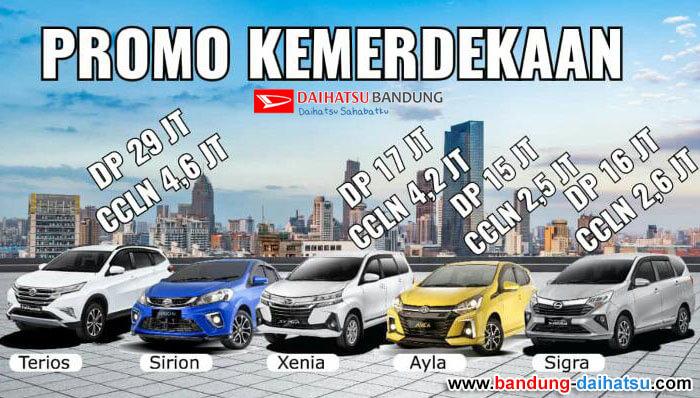 Promo Kemerdekaan Daihatsu Bandung 2020
