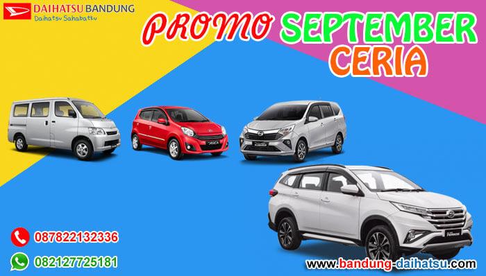 Promo September Ceria Daihatsu Bandung