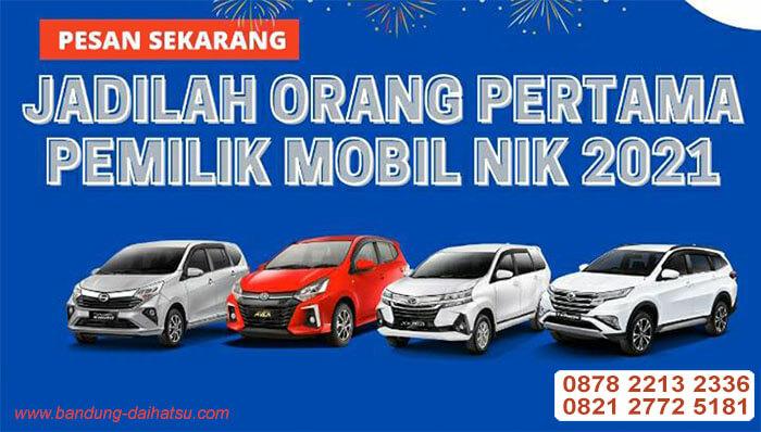 Promo Daihatsu Bandung nik 2021