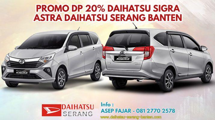 Promo Daihatsu Sigra Serang Banten Dp 20